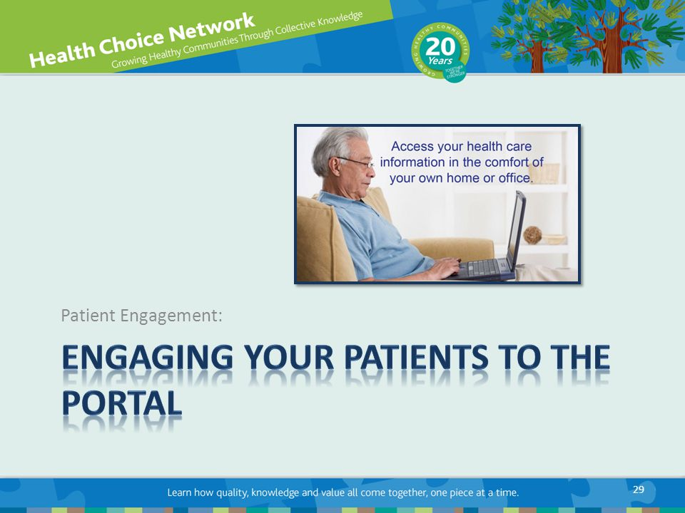 Patient Engagement: 29