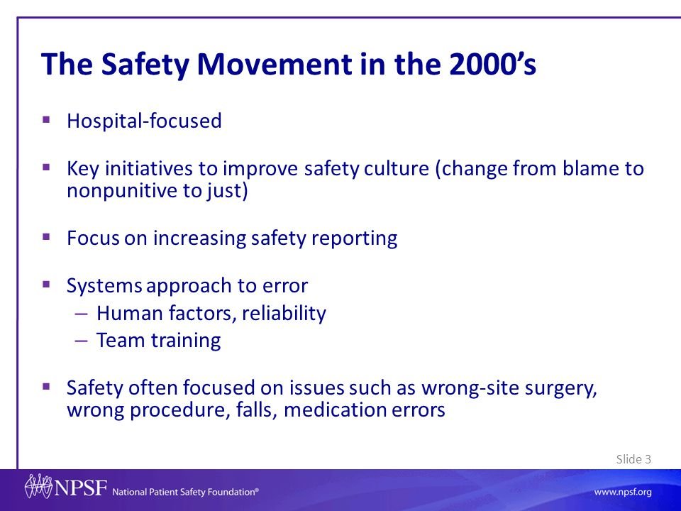 Slide 24 Safety Issues in Home Care  Home care adverse event rate per client-year is 10%  56% of AEs were judged preventable.
