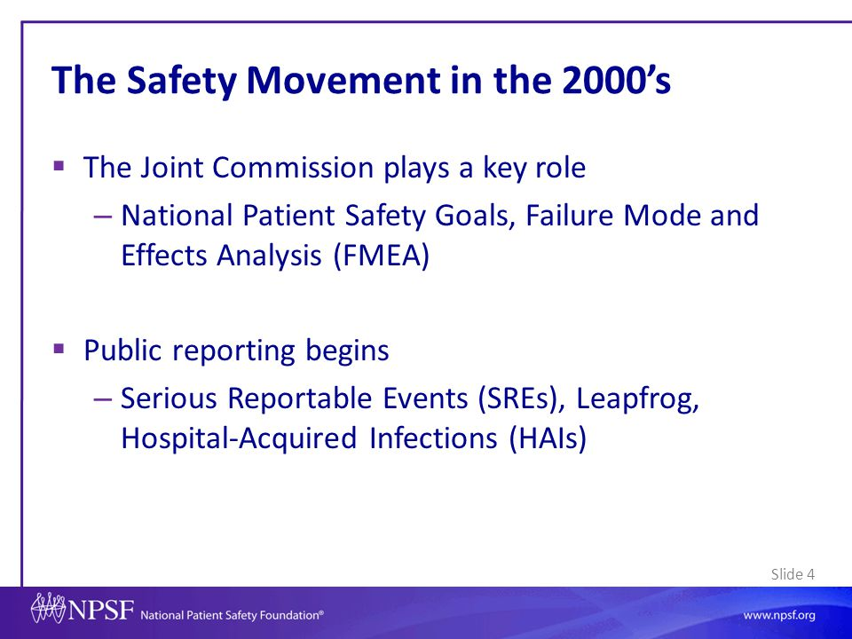 Slide 35 Tools for Health Systems  Patient family advisory councils  Shared decision making tools  Health literacy tools/training  Bedside rounds  Patient activated rapid response systems  Patient reporting systems  Patients on root cause analyses