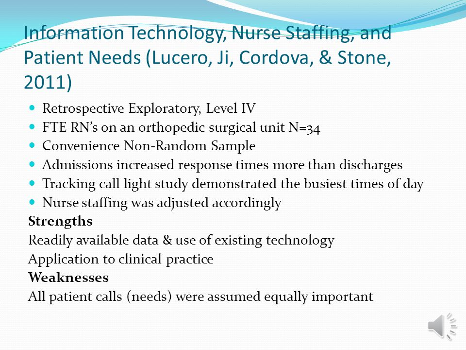 Searchable Question What are the best practices for staffing adult inpatient acute care units regarding patient census and patient acuity?