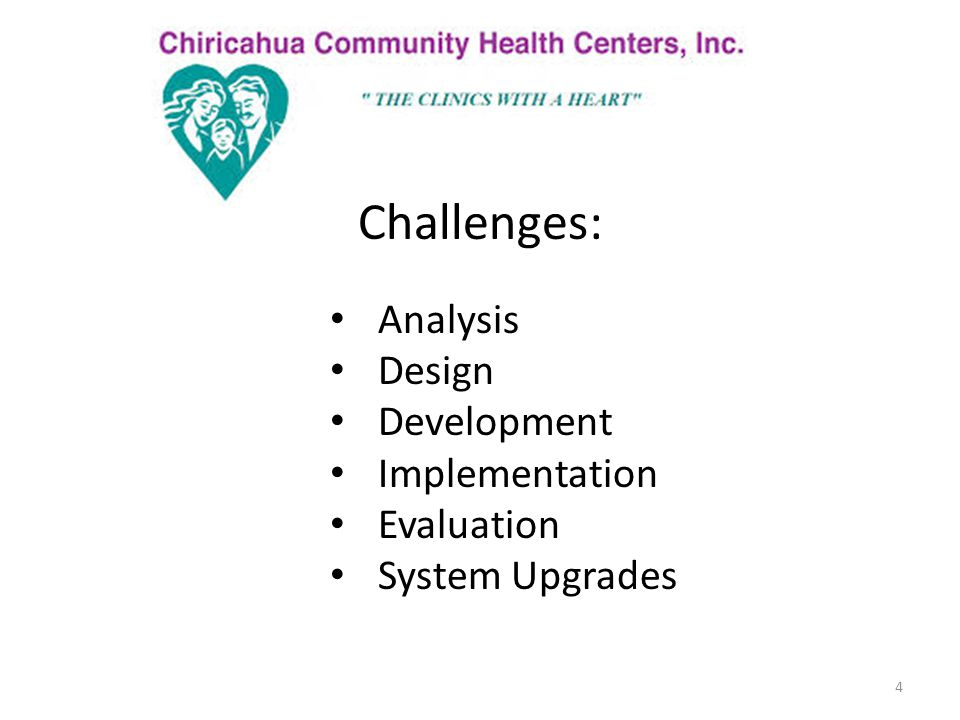 Solutions: 5 Backing from Medical Director and the CCHCI Leadership Team