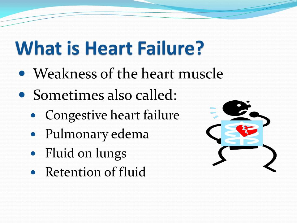 Common Symptoms of Heart Failure 1.Hard time breathing 2.