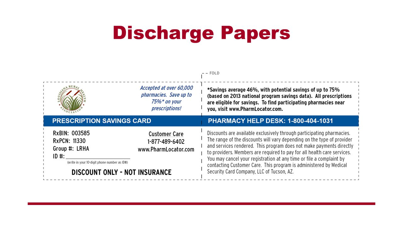 Discharge Papers