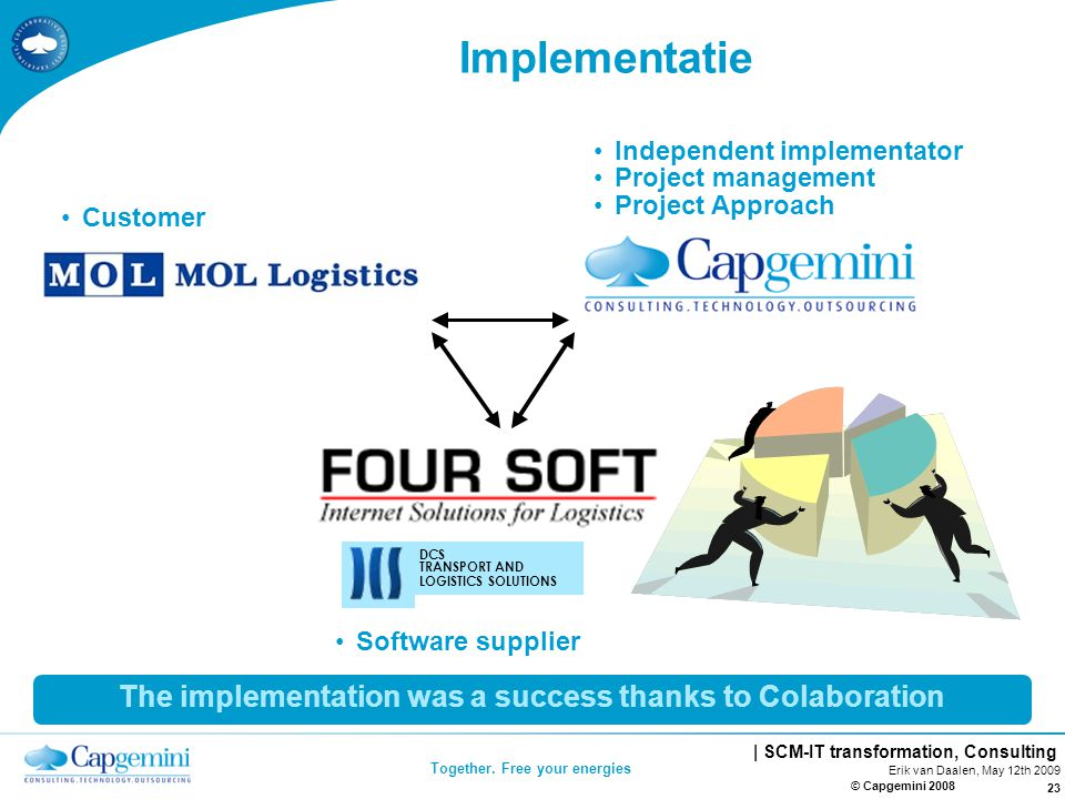 | SCM-IT transformation, Consulting Together.