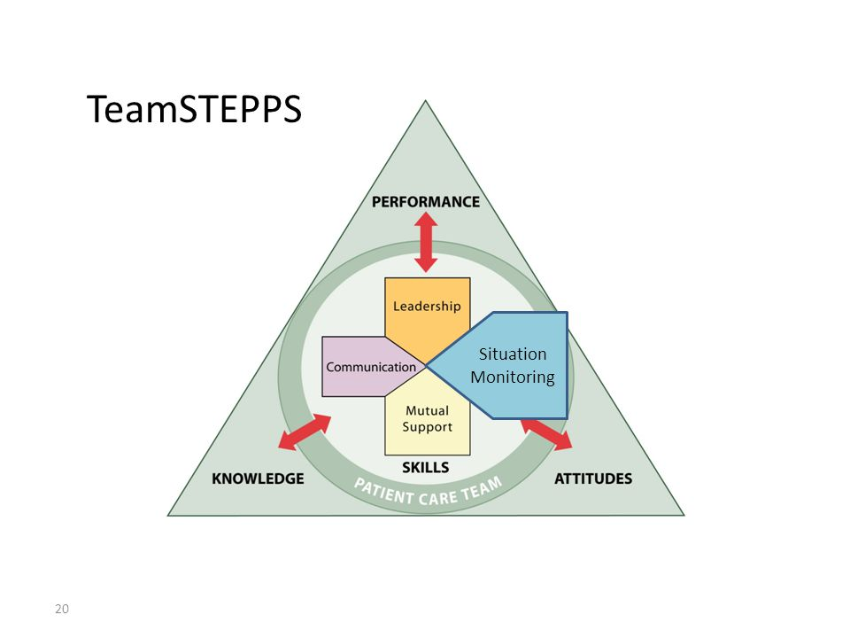 20 TeamSTEPPS Situation Monitoring