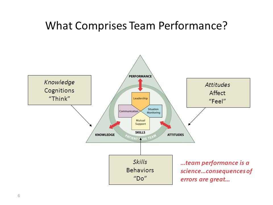 6 What Comprises Team Performance.