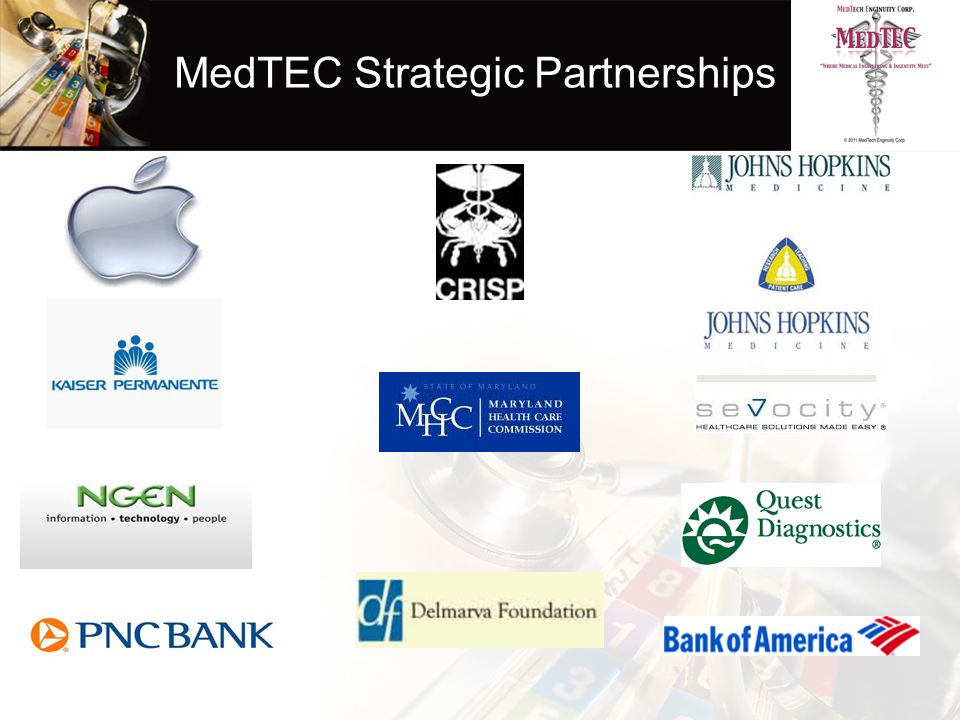MedTEC Strategic Partnerships