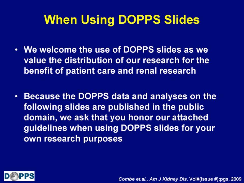 DOPPS Slide Use Guidelines