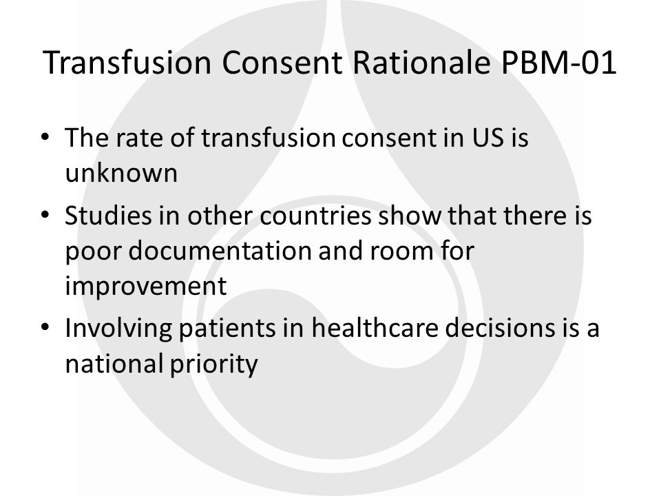 Encourage use of the PBM measures at the local level HHS is organizing further data collection efforts The seven blood measures have been added to the measure reserve library.