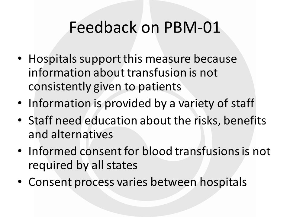 Blood Administration Documentation – Transfusions of blood units with documentation for all of the following: Patient identification, transfusion order and blood ID number confirmed prior to the initiation of transfusion.