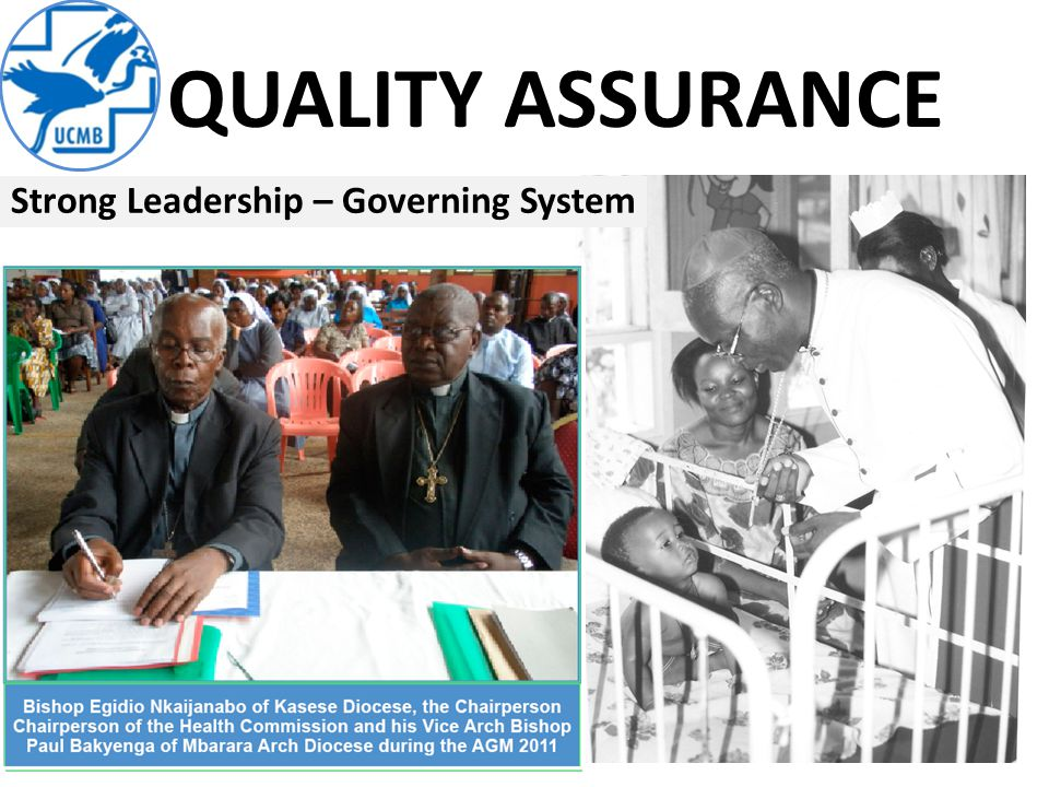 QUALITY ASSURANCE Strong Leadership – Governing System