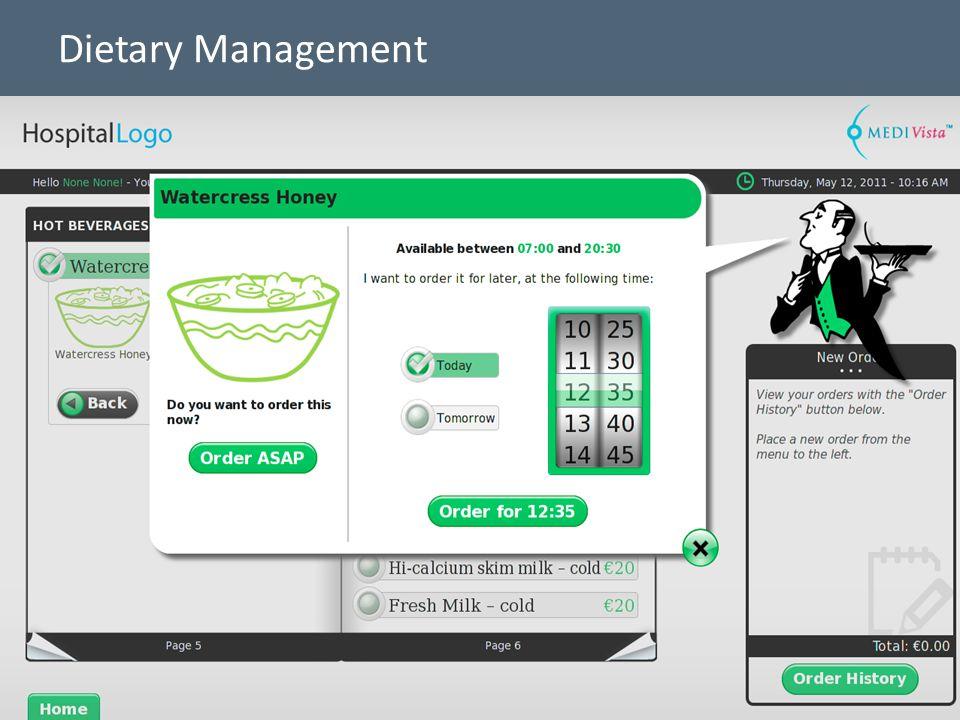 14 Dietary Management