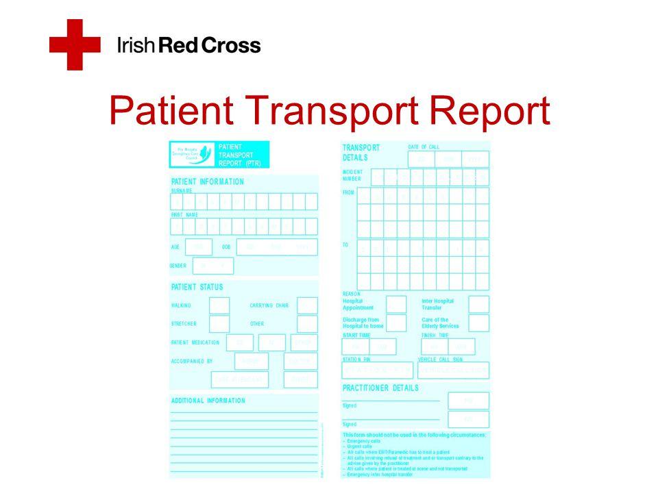 Patient Transport Report