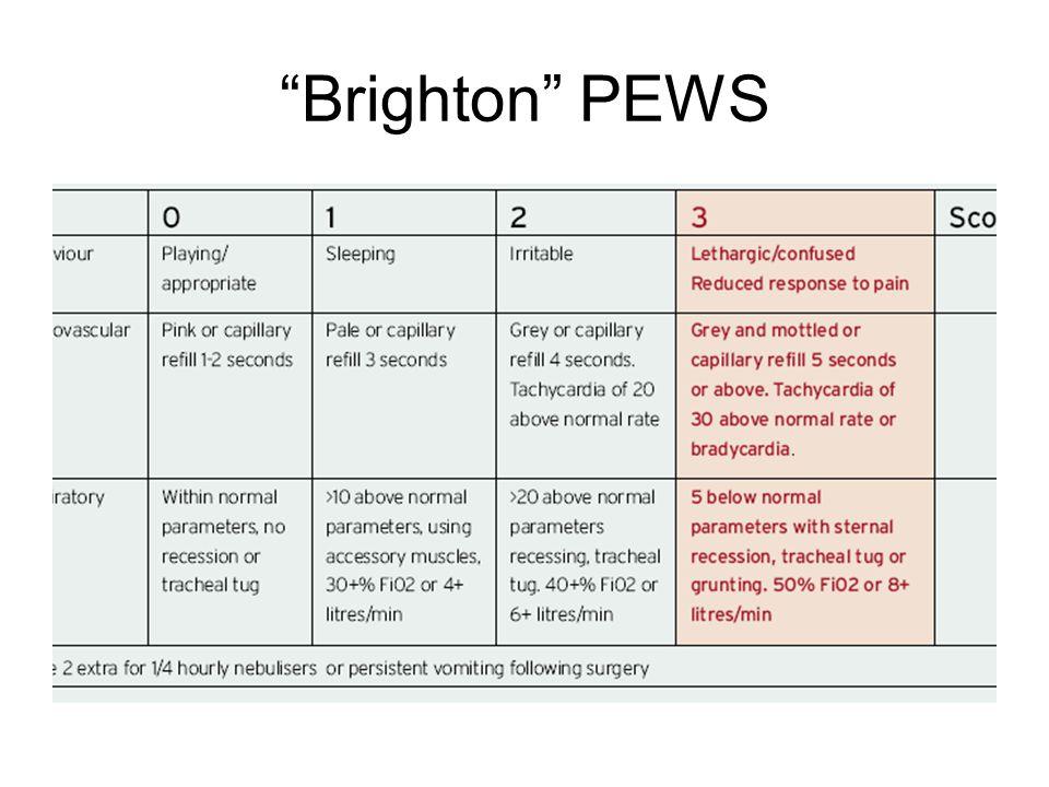 Brighton PEWS