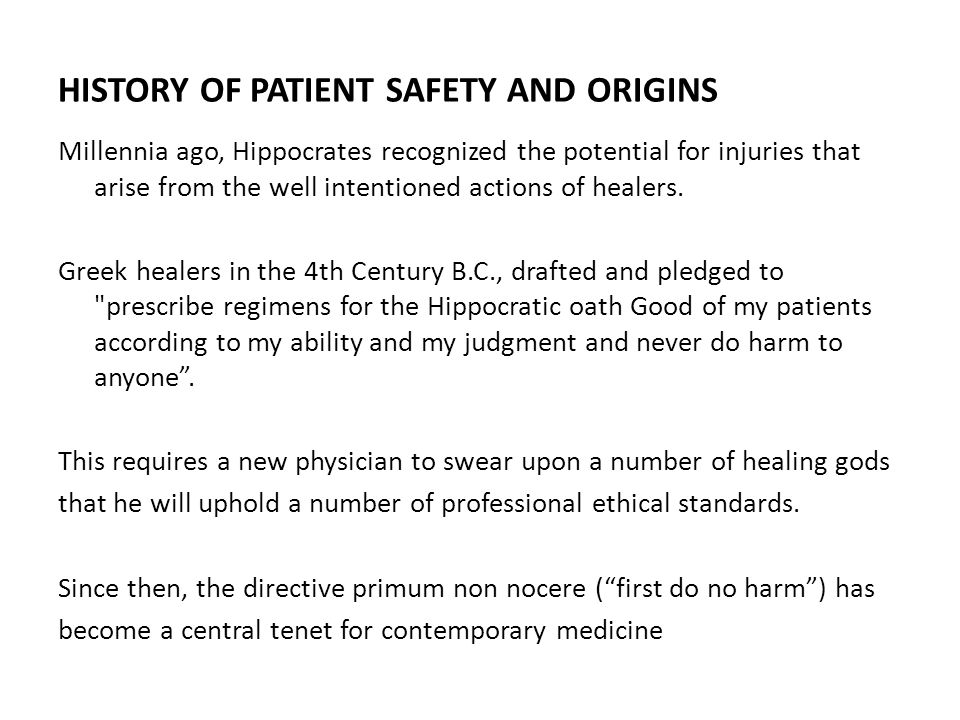 INTRODUCTION Wrong-site, wrong-procedure, wrong-patient surgery is a disturbingly common occurrence in healthcare organization.