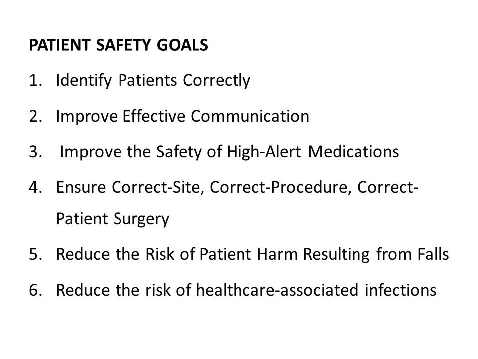INTRODUCTION Medications are part of the patient treatment plan, appropriate management is critical to ensuring patient safety.