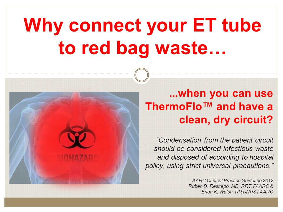 ...when you can use ThermoFlo™ and have a clean, dry circuit.