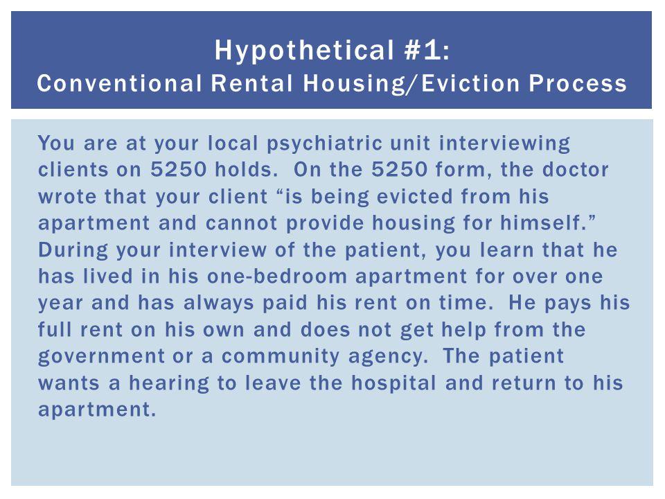  Board & care facilities must follow basic landlord-tenant law.