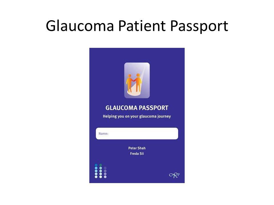 Glaucoma Patient Passport