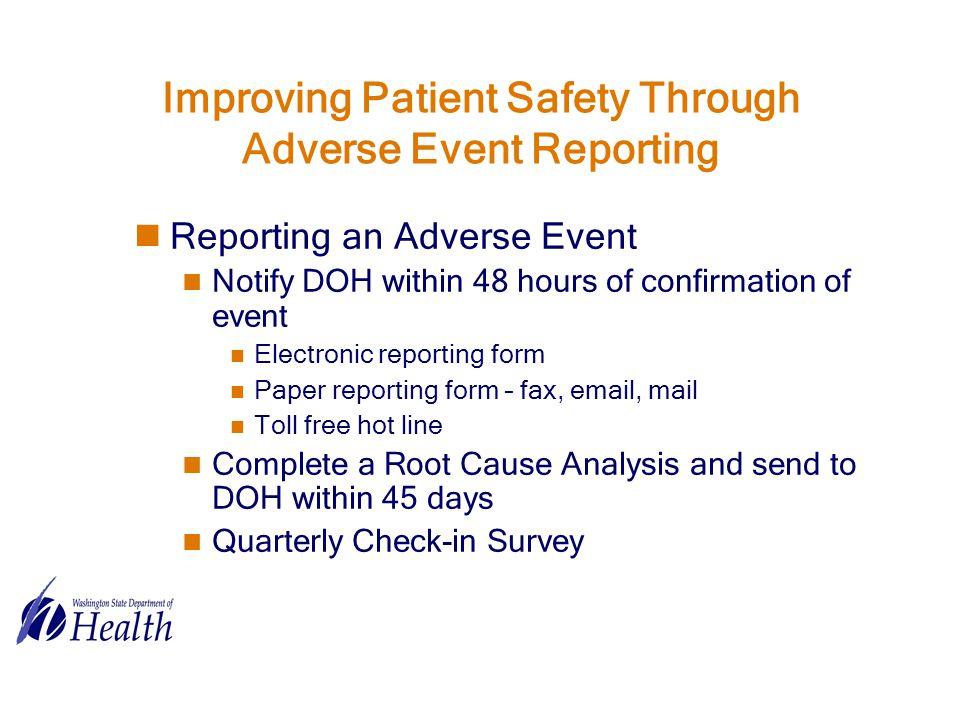 adverse event analysis