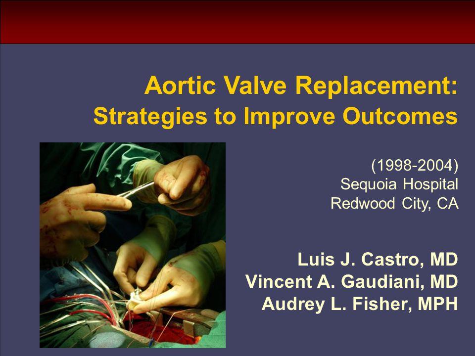 Luis J. Castro, MD Vincent A. Gaudiani, MD Audrey L.