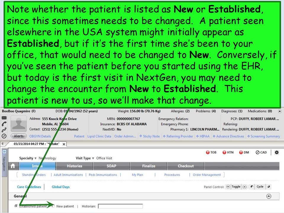 The Patient Plan generates.Click the Printer icon to print it, then return to the SOAP Tab.