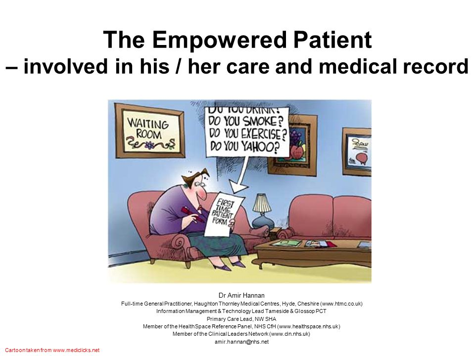 Summary What is an empowered patient.How do patients become empowered.