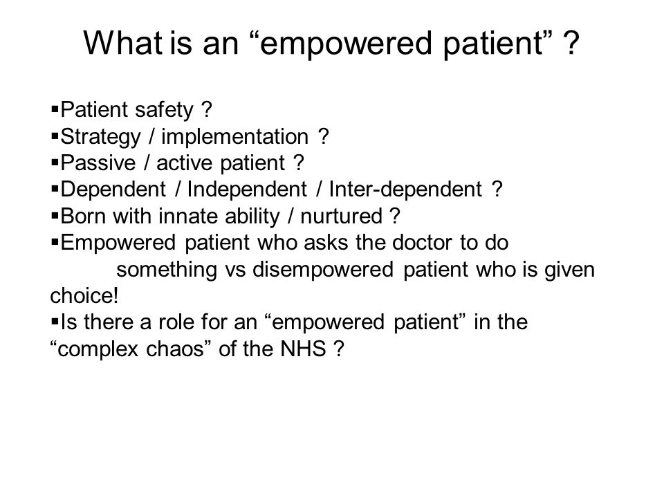 Summary Patients CAN access their electronic health records on-line Not a question of IF but rather WHEN and HOW Strategy and implementation go hand in hand NHS CfH and others ARE delivering tools to help support the culture change Patients ARE driving the competition and the organisational change necessary What are YOU doing to SUPPORT the empowered patient?