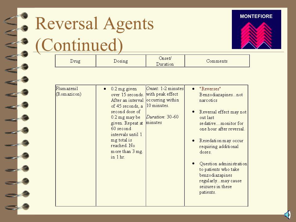 Reversal Agents