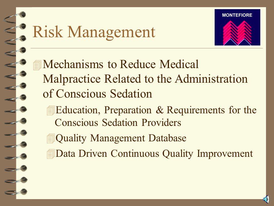 Quality Management 4 Risk Management 4 Quality Management 4Reporting 4Sample Indicators