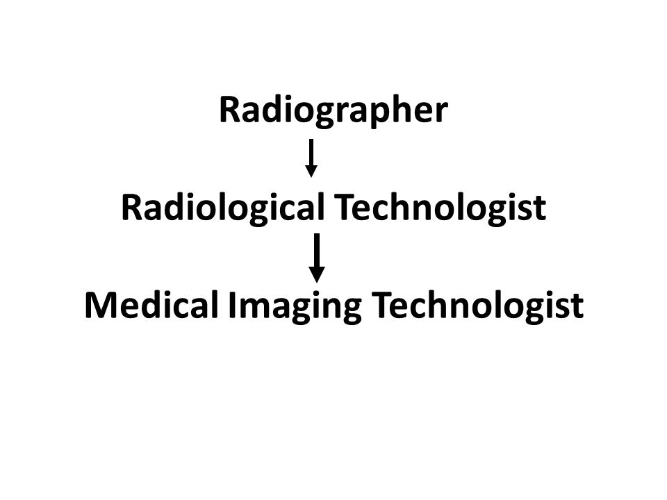 Radiographer Radiological Technologist Medical Imaging Technologist