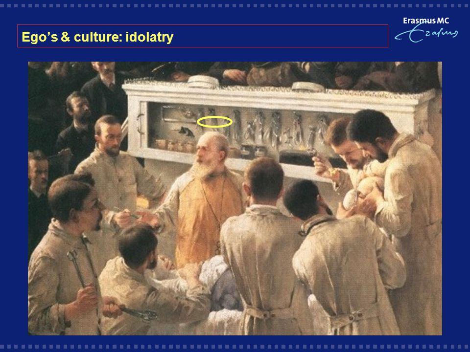 Ego's & culture: idolatry