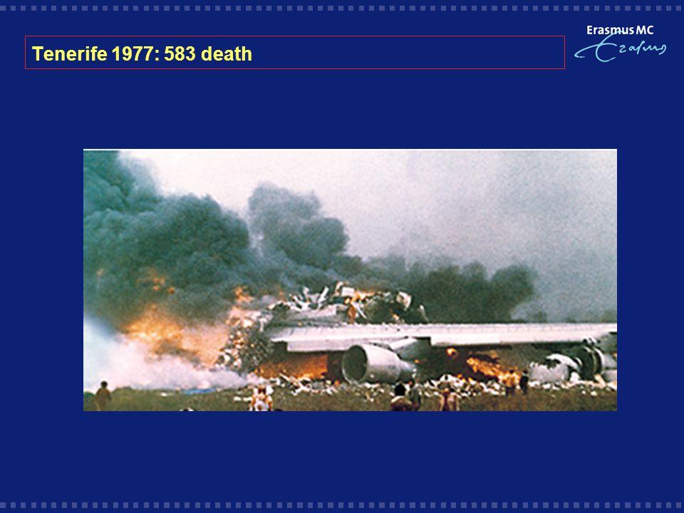 Tenerife 1977: 583 death