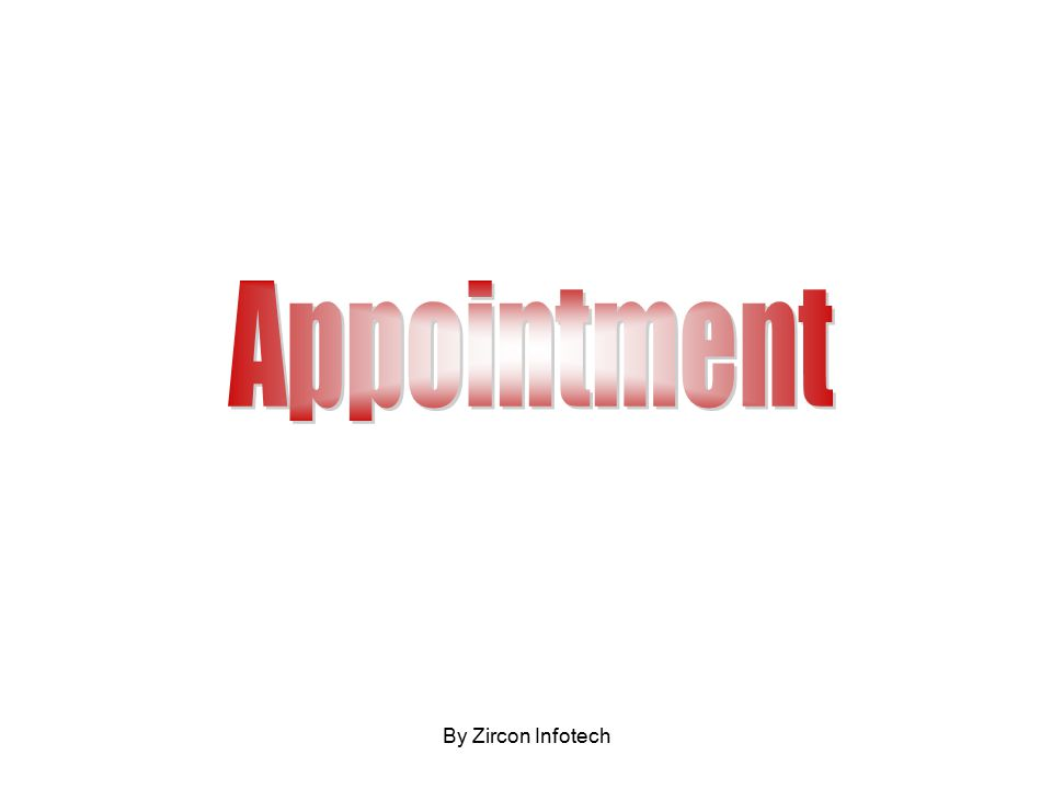 Doctor wise Date Wise Appointment Detail To open an appointment Click Open Showing Appointment of Selected Date