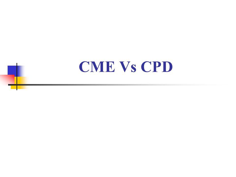 CME Vs CPD