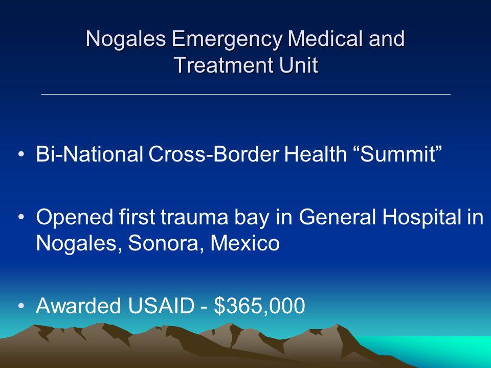 PARTICIPANTSLocalCommunitySupportOrganization Public and Private Healthcare Providers in Arizona Sonoran Public Health System Bi-National Advisory Board