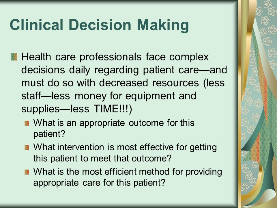 Research – Practice Gap Evidence indicates that patients receiving care based on most up-to- date information from research studies experience 28% better outcomes than those patients receiving non-research based care Only a small percentage of healthcare providers incorporate research findings into patient care »Melnyk & Fineout-Overholt (2005)