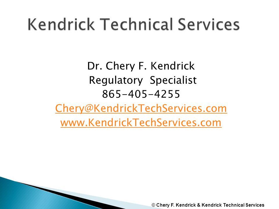 Dr. Chery F.