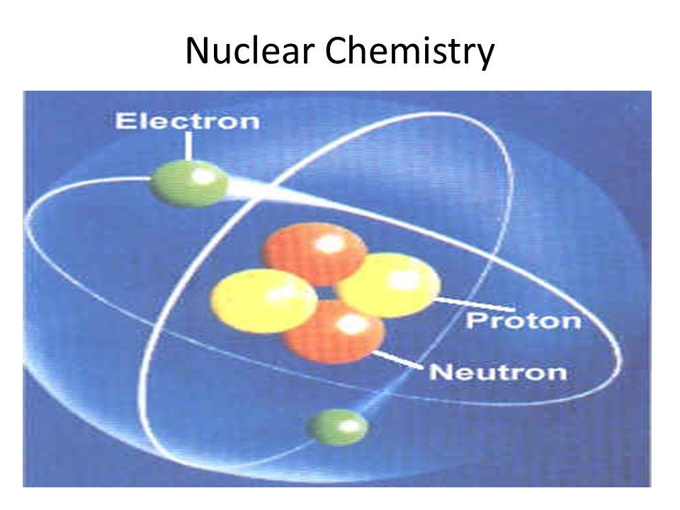 Nuclear Chemistry