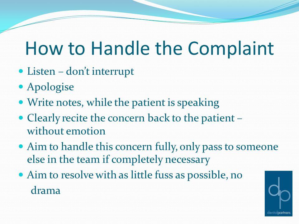 Complaints Register Why should we track our complaints.