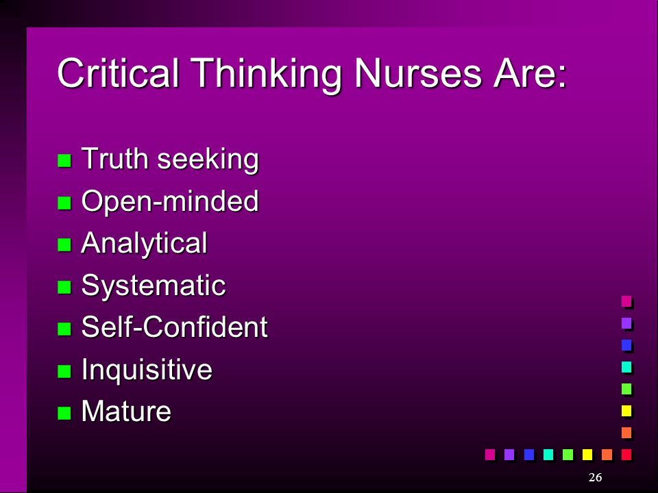 what is a critical thinker