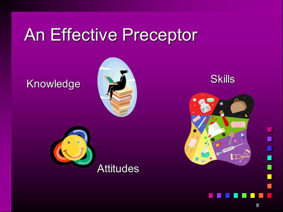 8 An Effective Preceptor Knowledge Skills Attitudes