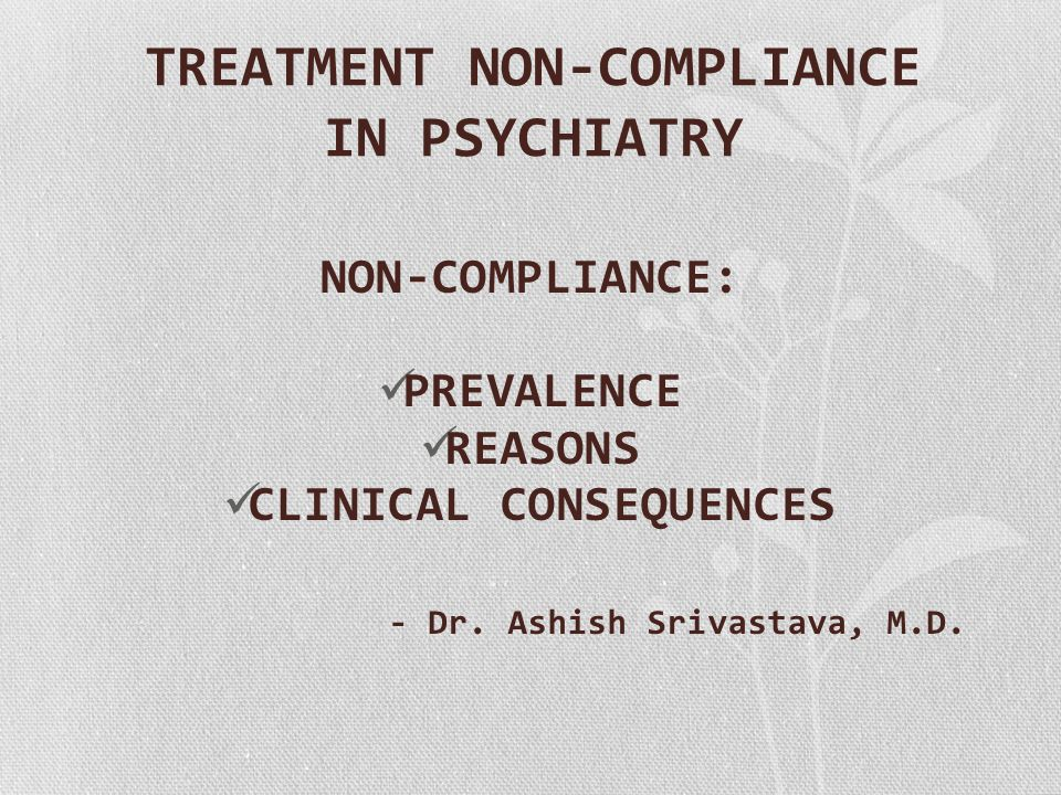 NON-COMPLIANCE INTRODUCTION PATTERNS OF NON-COMPLIANCE THEORETICAL MODELS PREVALENCE MEASUREMENT OF NON-COMPLIANCE REASONS FOR NON-COMPLIANCE CLINICAL CONSEQUENCES