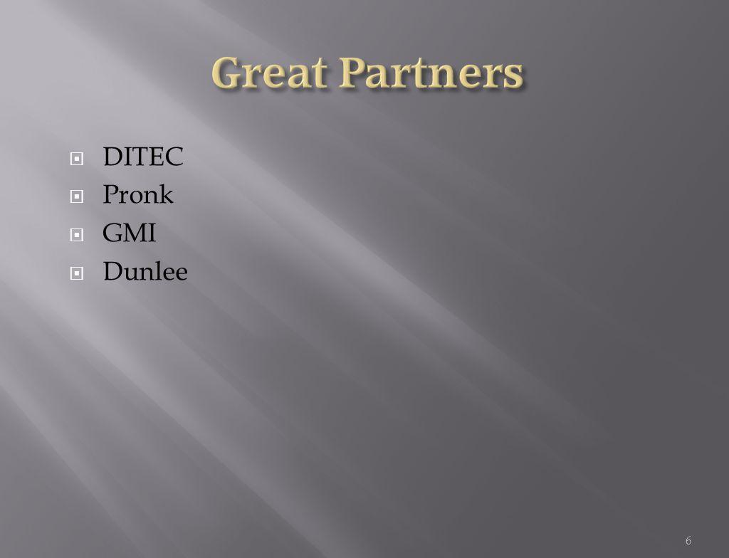  DITEC  Pronk  GMI  Dunlee 6