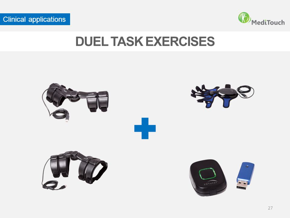 27 DUEL TASK EXERCISES Clinical applications