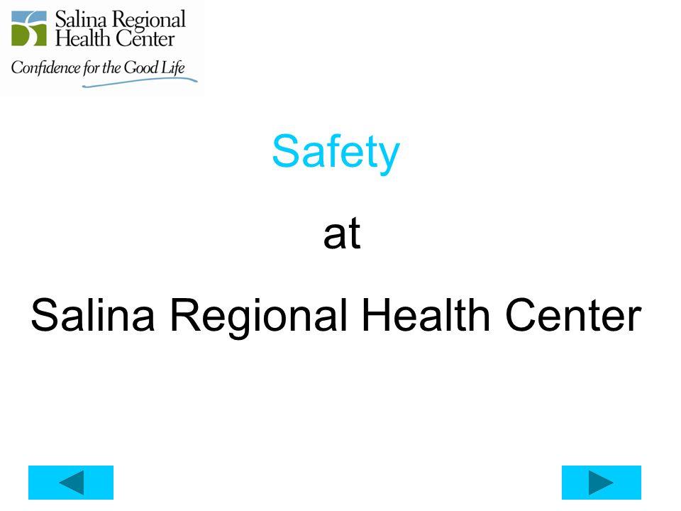 Safety at Salina Regional Health Center