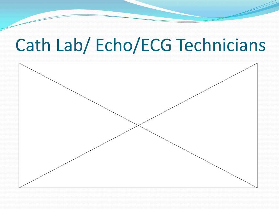 Cath Lab/ Echo/ECG Technicians