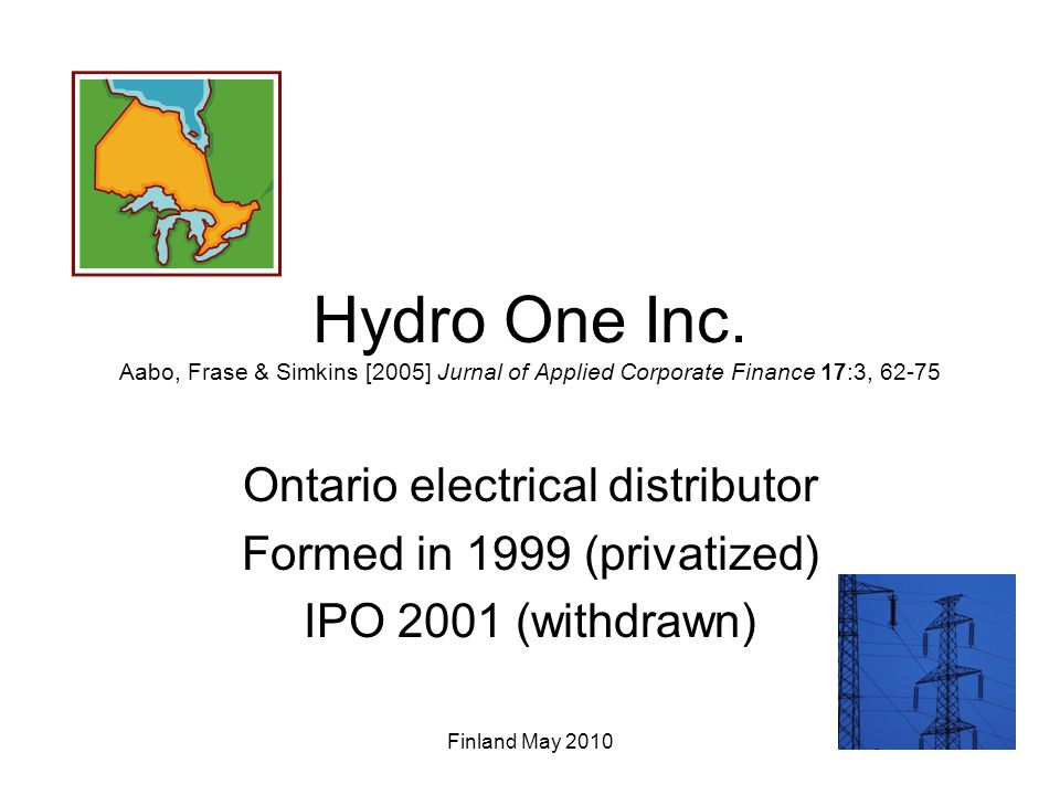 Hydro One Inc.
