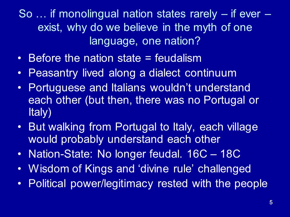 16 All languages are potentially equal – but for social reasons, not always so (Hymes 1992: 2 -10; in Hornberger 2006:27) But … that does not necessarily mean that we can give equal resources to every language Though we should strive to identify inequality in opportunity, and attempt to rectify it.