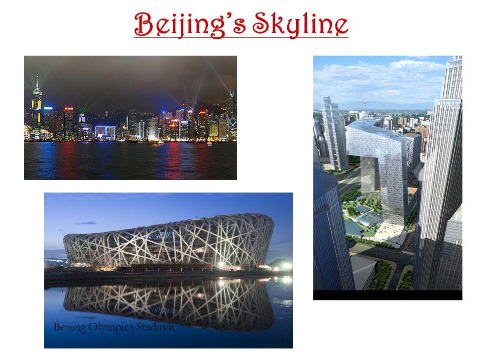 Beijing's Skyline Beijing Olympics Stadium